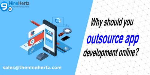 Why should you outsource app development online?